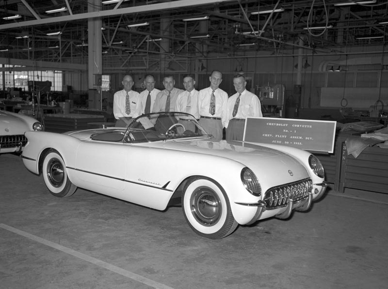 First production Corvette - June 30, 1953