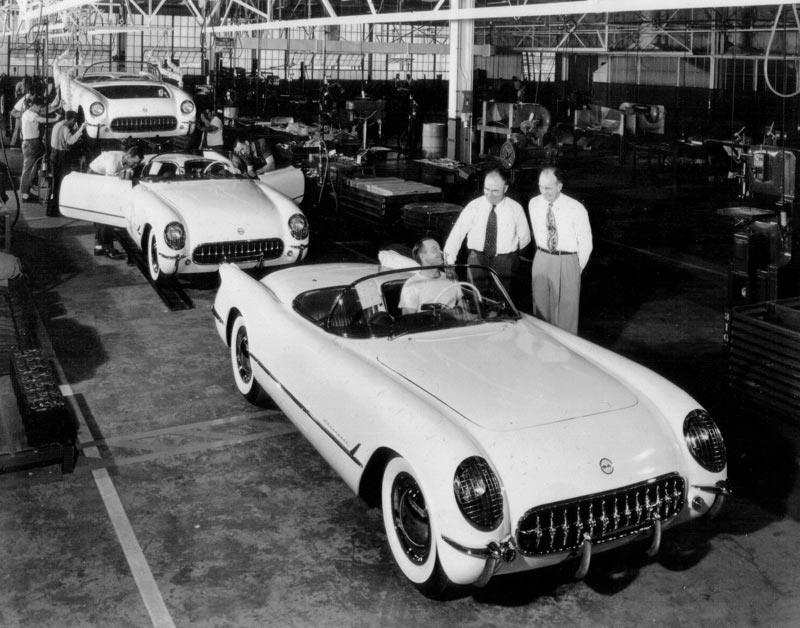 1953 Chevrolet Corvette - first Corvette off the production line