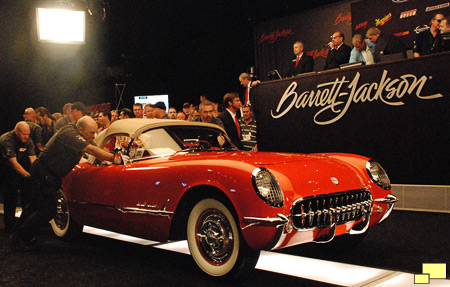 1955 Chevrolet Corvette Barrett Jackson Auction