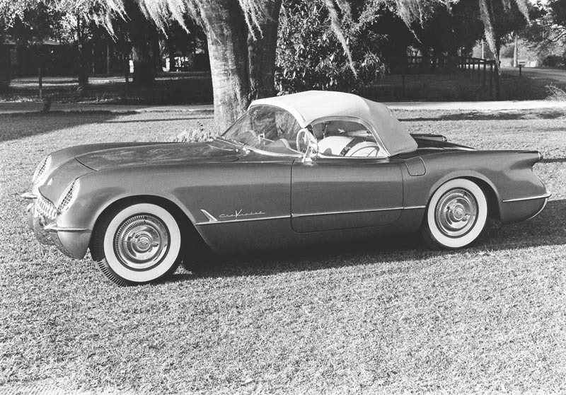 1955 Chevrolet Corvette Press Photo