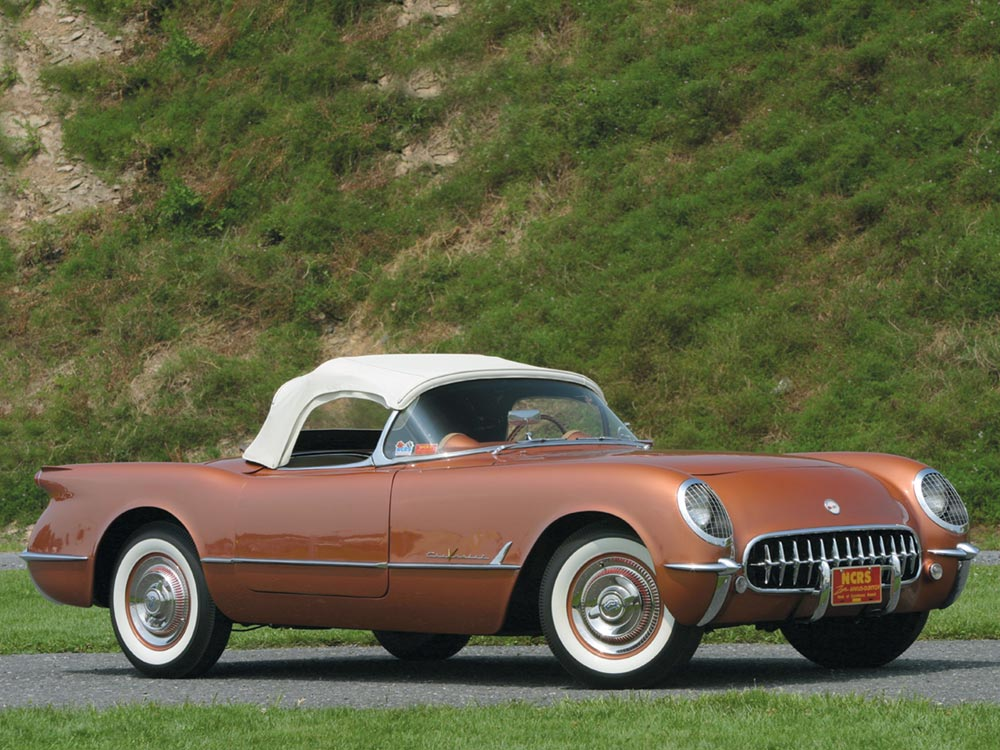 1955 Chevrolet Corvette in Corvette Copper