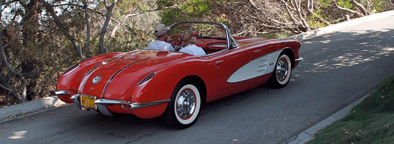 a history of the corvette in 1950