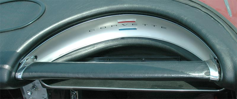 1962 Chevrolet Corvette Passenger Grab Bar
