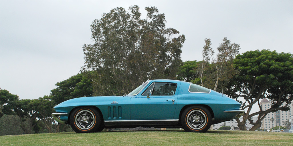 1966 Chevrolet Corvette in Nassau Blue