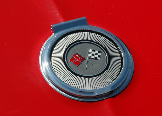 1966 Chevrolet Corvette Fuel Filler Door