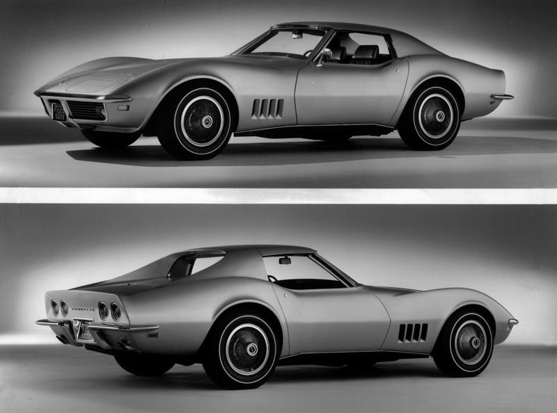 1968 Chevrolet Corvette GM Photograph