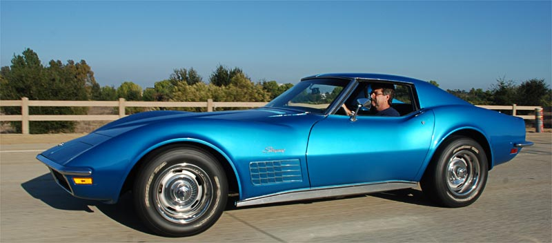 1971 Chevrolet Corvette in Nassau Blue