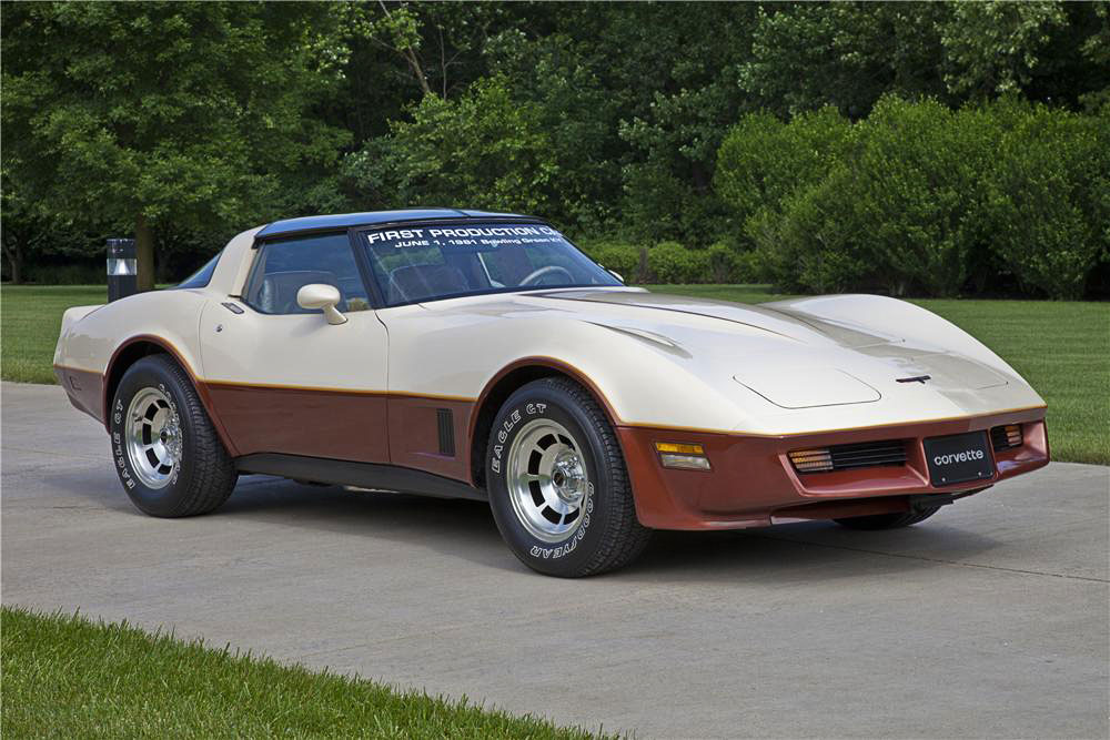 1981 Corvette - First Bowling Green KY Production