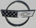 1988 Chevrolet Corvette 35th Anniversary Edition Front Hood Emblem