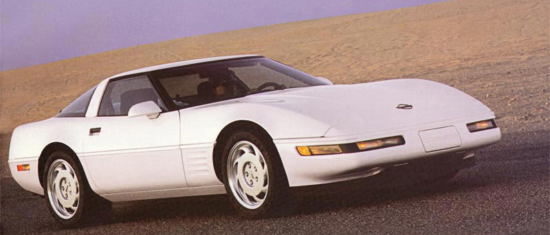 1992 Chevrolet Corvette Brochure Illustration