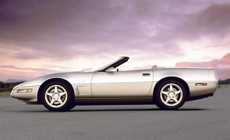 1996 Chevrolet Corvette - GM Photo