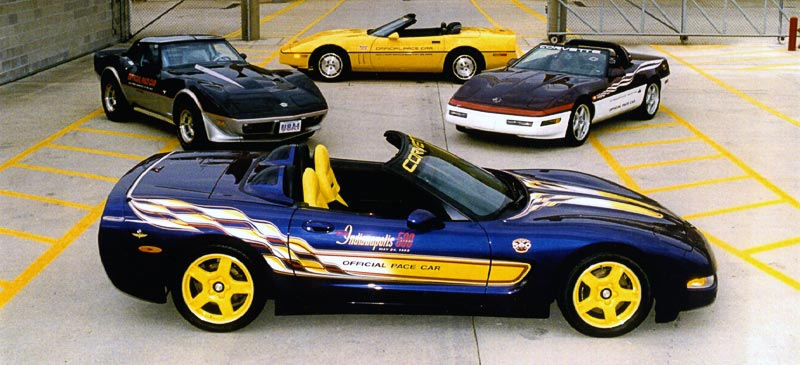 1998 Chevrolet Corvette Indy 500 Pace Car