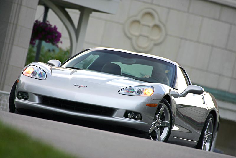 2005 Corvette C6 in Machine Silver