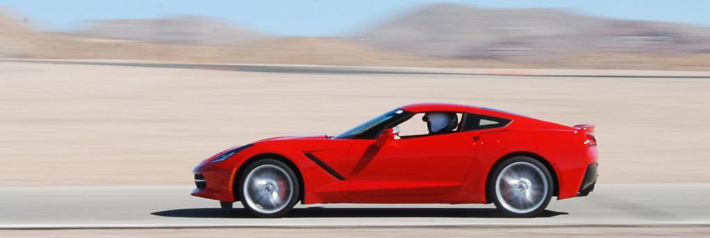 2014 Chevrolet Corvette C7 at WIllow Springs International Raceway