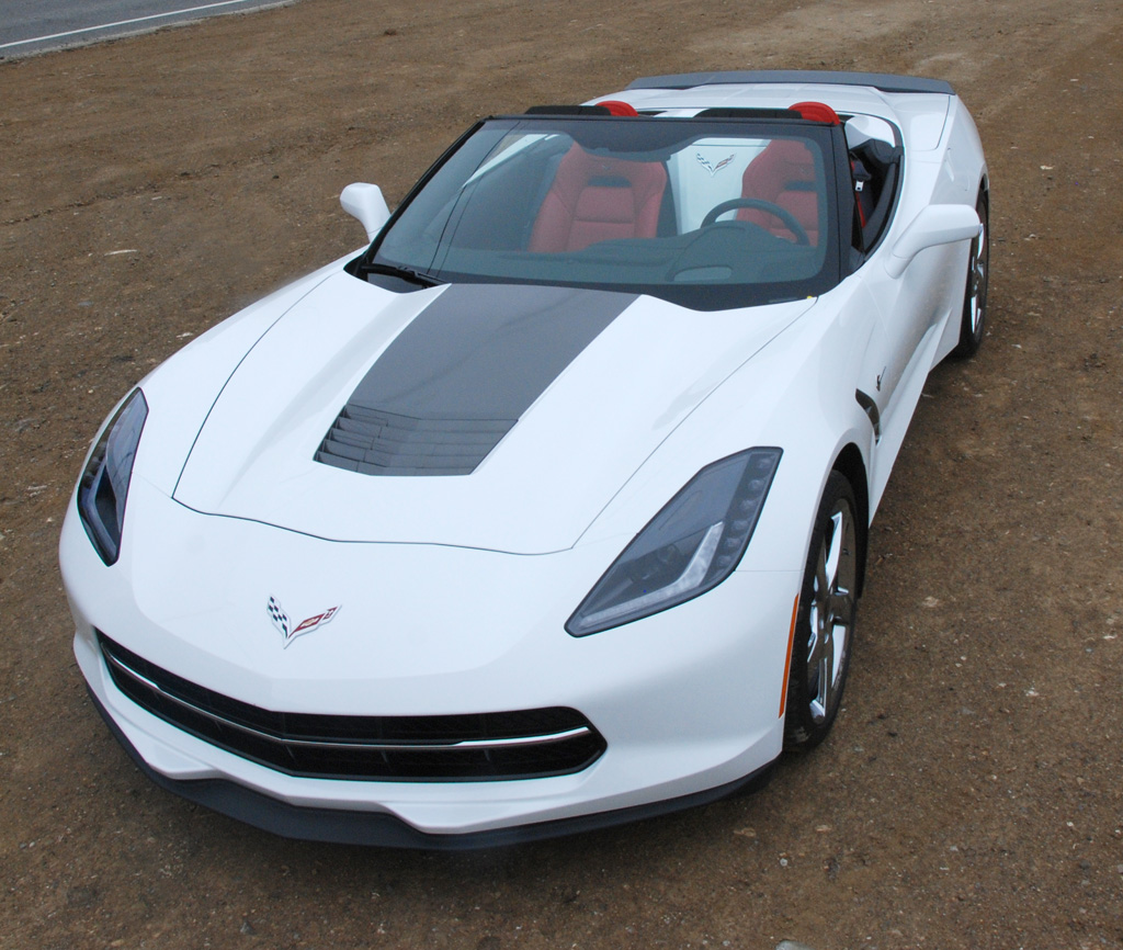 2015 Chevrolet Corvette Atlantic Convertible in Arctic White