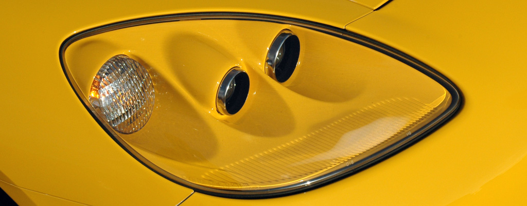 2005 C6 Chevrolet Corvette Headlight