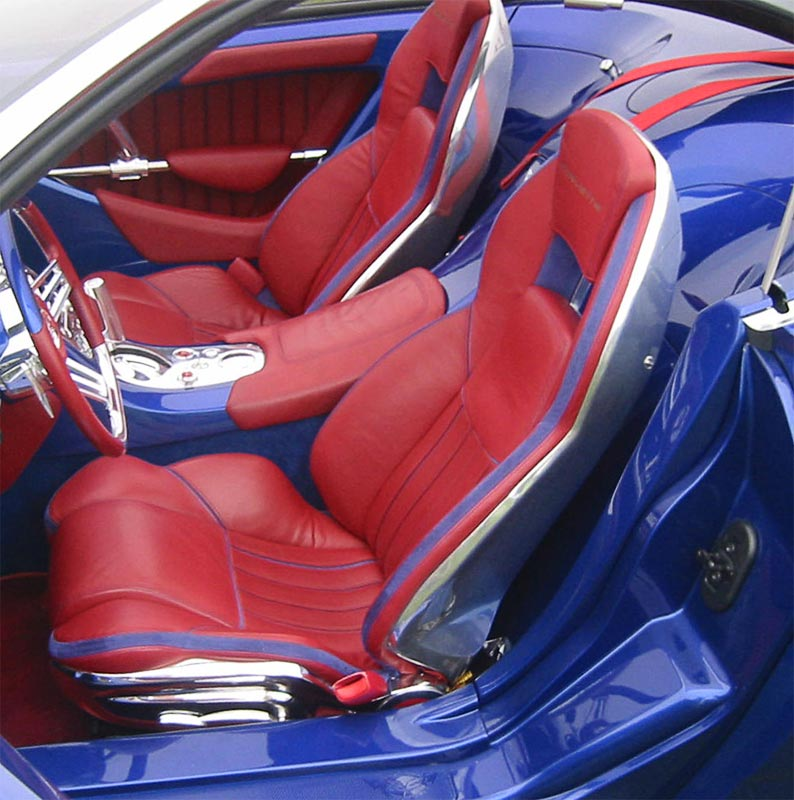Corvette Moray Interior