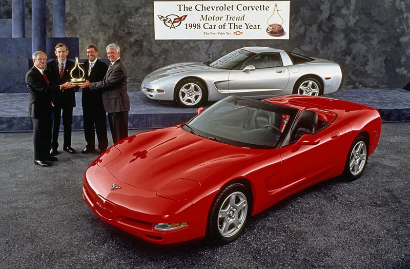 1998 Chevrolet Corvette Convertible Car of the Year